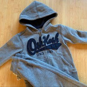 🍭Osh Kosh hoodie & sweatpants - 4